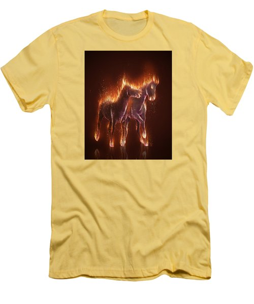 From Hell Men's T-Shirt (Slim Fit) by Kate Black