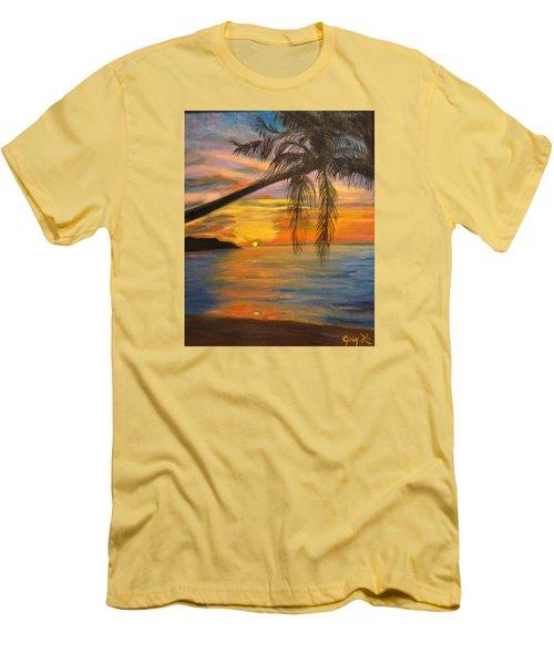 Hawaiian Sunset 11 Men's T-Shirt (Athletic Fit)