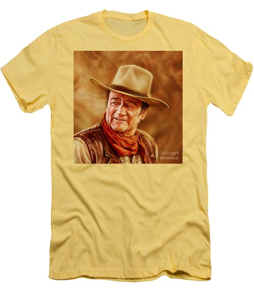 John Wayne Men's T-Shirt (Athletic Fit)