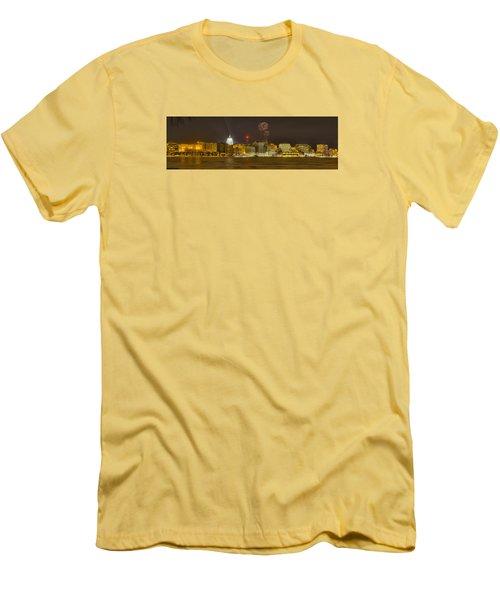 Madison New Years Eve Men's T-Shirt (Slim Fit) by Steven Ralser