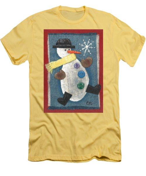 Mr. Snowjangles Men's T-Shirt (Athletic Fit)