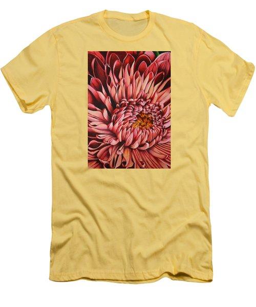 Pink Mum Men's T-Shirt (Slim Fit) by Bruce Bley