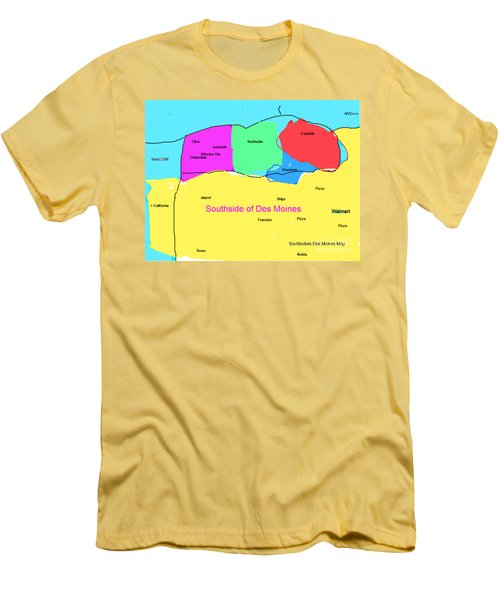 Southsiders View Of Des Moines Men's T-Shirt (Athletic Fit)
