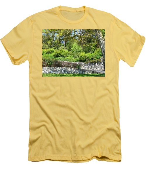 Stone Wall 1 Men's T-Shirt (Athletic Fit)