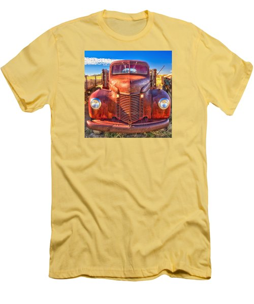 International Rust Men's T-Shirt (Athletic Fit)