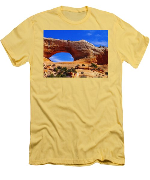 Wilsons Arch Men's T-Shirt (Slim Fit) by Jeff Swan
