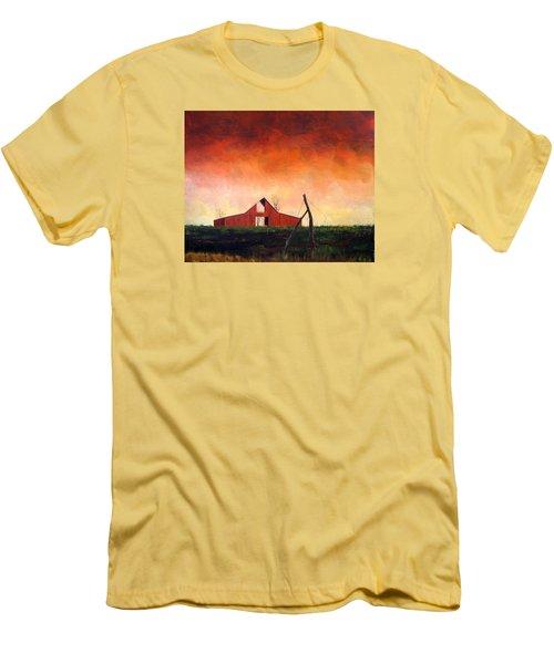 Wired Down Men's T-Shirt (Slim Fit) by William Renzulli