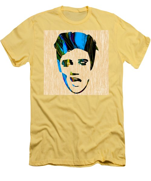 Elvis Presley Men's T-Shirt (Slim Fit) by Marvin Blaine