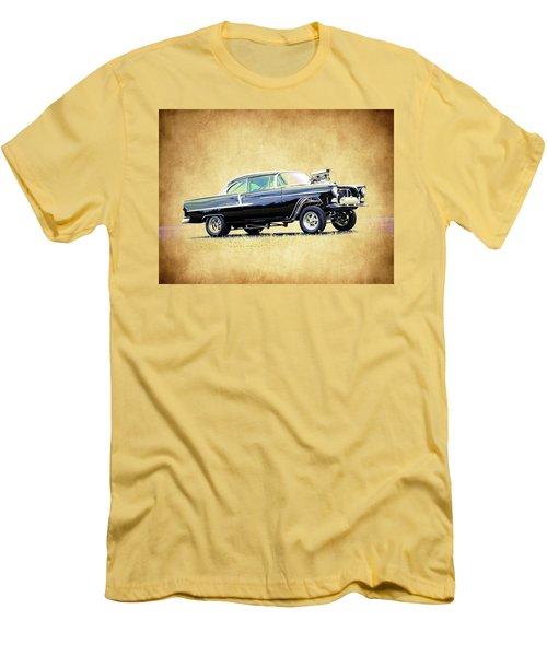 1955 Chevy Gasser Men's T-Shirt (Slim Fit) by Steve McKinzie