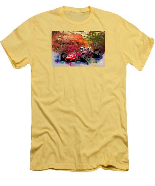 1966 9 Eagle Indy Men's T-Shirt (Athletic Fit)
