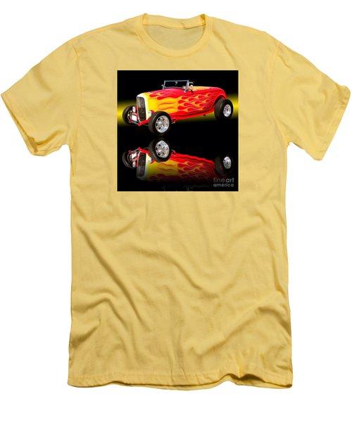 1932 Ford V8 Hotrod Men's T-Shirt (Athletic Fit)