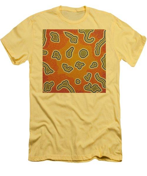 Men's T-Shirt (Slim Fit) featuring the photograph Aboriginal Inspirations 22 by Mariusz Czajkowski