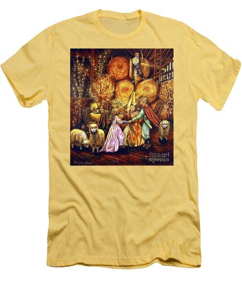 Children's Enchantment Men's T-Shirt (Slim Fit) by Linda Simon