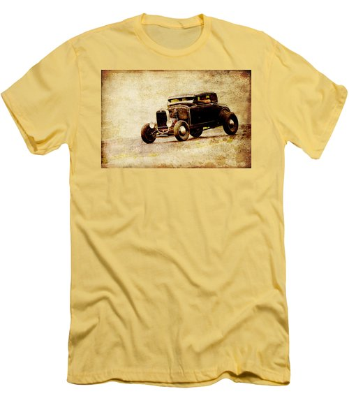 Hot Rod Ford Men's T-Shirt (Slim Fit) by Steve McKinzie