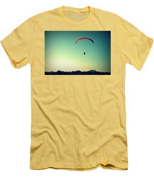 Paraglider Men's T-Shirt (Athletic Fit)