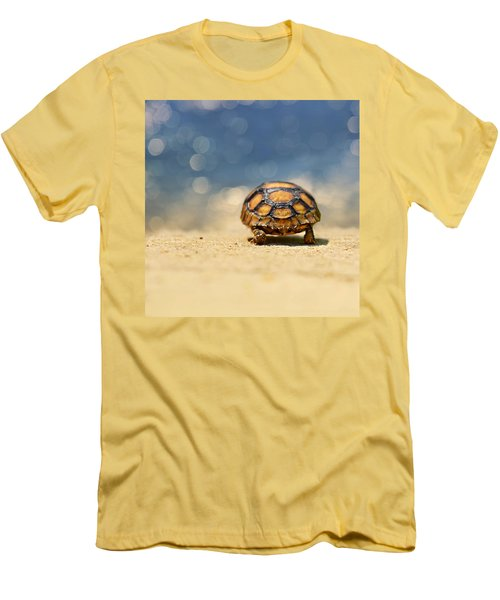 Road Warrior Men's T-Shirt (Slim Fit) by Laura Fasulo