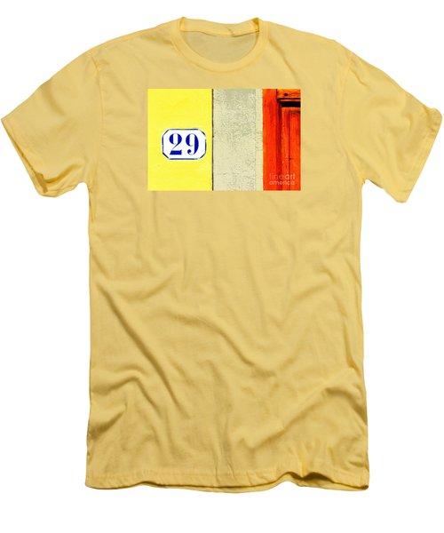 29 Comic Book Door Men's T-Shirt (Athletic Fit)