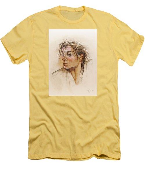 Michael Life Unfinished Men's T-Shirt (Athletic Fit)