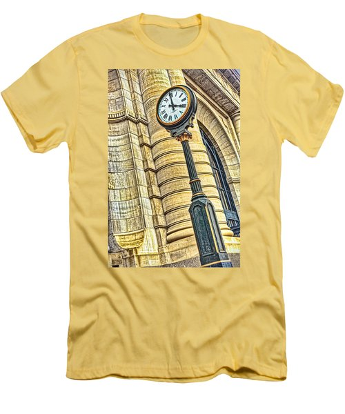 4 O'clock Train Men's T-Shirt (Athletic Fit)