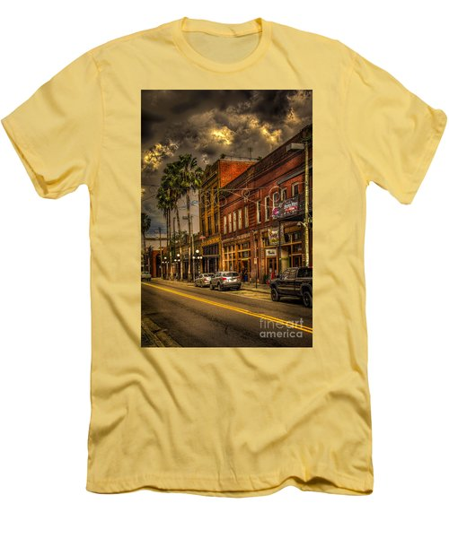 7th Avenue Men's T-Shirt (Slim Fit) by Marvin Spates