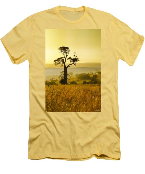 A Boab Sunrise Men's T-Shirt (Slim Fit) by Holly Kempe