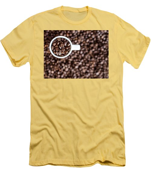 A Familiar Blend Men's T-Shirt (Slim Fit) by Aaron Aldrich