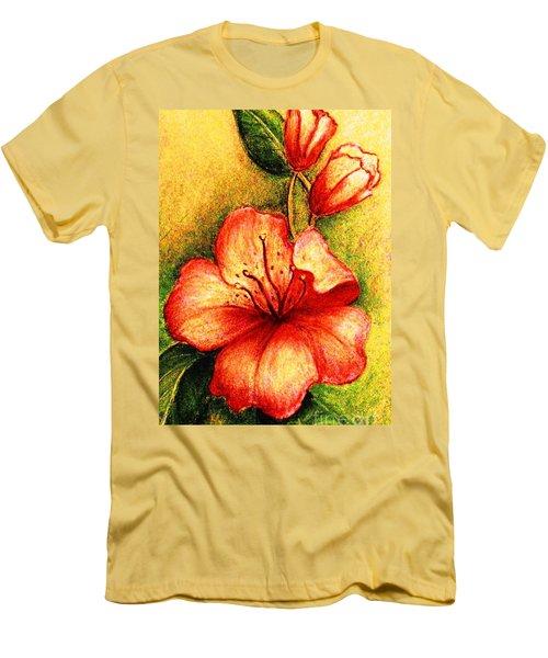 A Harbinger Of Springtime Men's T-Shirt (Slim Fit) by Hazel Holland