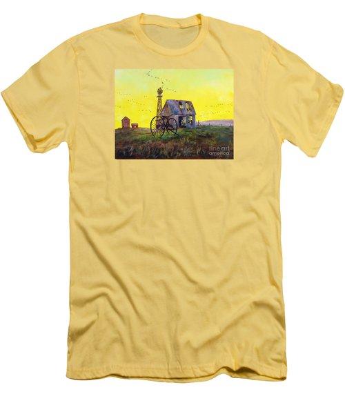 Abandoned  Farm Men's T-Shirt (Athletic Fit)