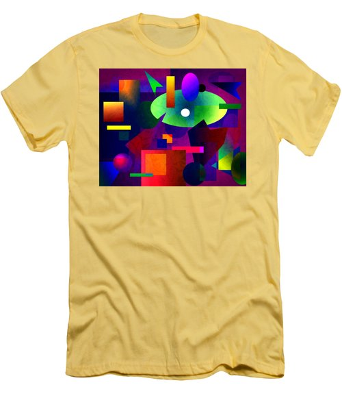 Abstract 74 Men's T-Shirt (Slim Fit) by Timothy Bulone