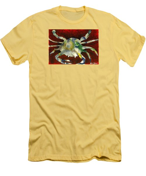 Abstract Crab Men's T-Shirt (Athletic Fit)