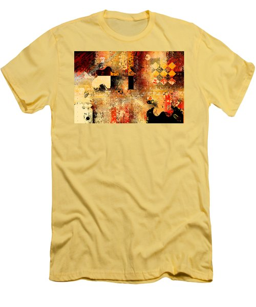 Abstracture - 103106046f Men's T-Shirt (Athletic Fit)