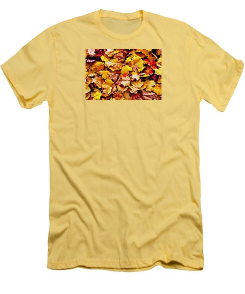 Men's T-Shirt (Slim Fit) featuring the photograph After The Fall by Daniel Thompson
