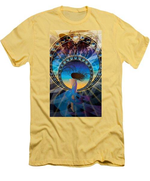 Amore E Nostalgia Men's T-Shirt (Slim Fit) by Kenneth Armand Johnson