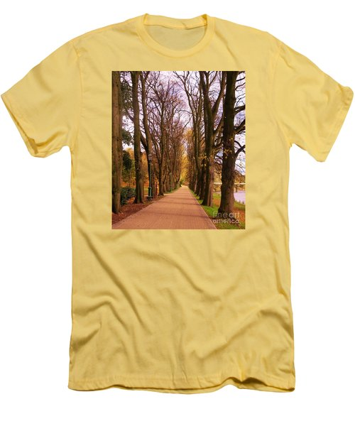 Another View Of The Avenue Of Limes Men's T-Shirt (Athletic Fit)