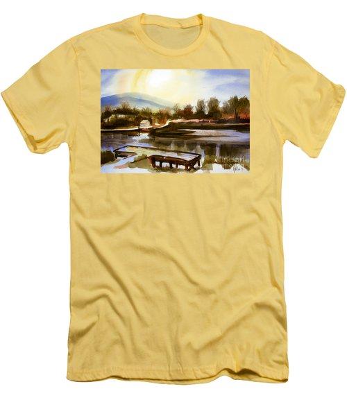 Approaching Dusk IIb Men's T-Shirt (Slim Fit) by Kip DeVore