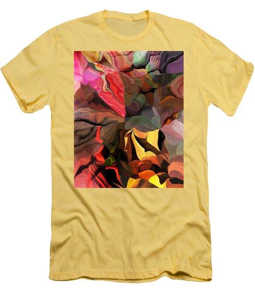 Men's T-Shirt (Slim Fit) featuring the digital art Arroyo  by David Lane