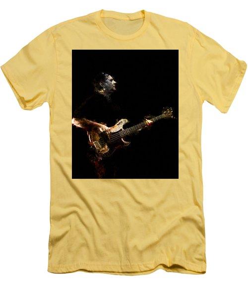 Men's T-Shirt (Slim Fit) featuring the photograph Art Of Bass by John Rivera