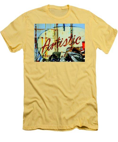 Artistic Junk Men's T-Shirt (Slim Fit) by Kathy Barney