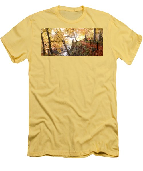 Autumn Colors Men's T-Shirt (Slim Fit)