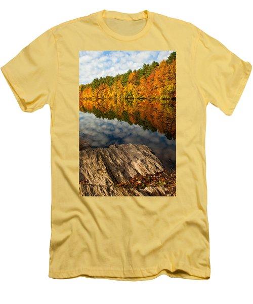 Autumn Day Men's T-Shirt (Slim Fit) by Karol Livote