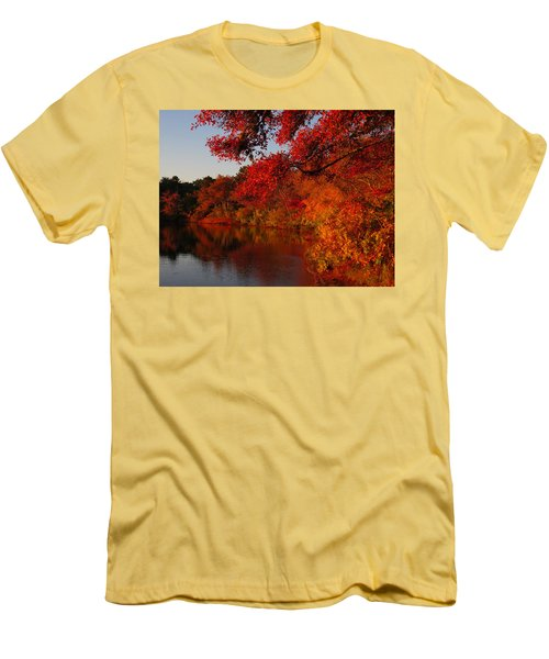 Men's T-Shirt (Slim Fit) featuring the photograph Autumn Splendor  by Dianne Cowen