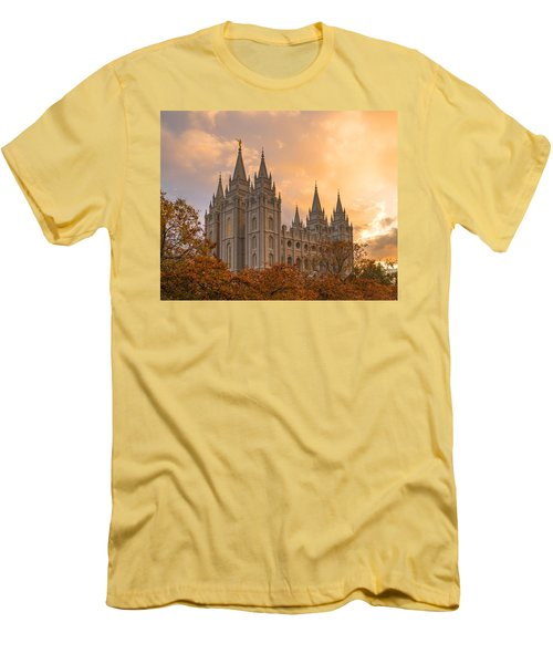 Autumn Splendor Men's T-Shirt (Slim Fit) by Dustin  LeFevre