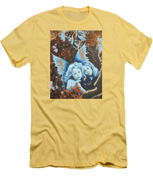 Autumn Turning. Men's T-Shirt (Slim Fit) by Vivien Rhyan