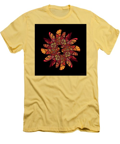 Autumn Wreath Men's T-Shirt (Athletic Fit)