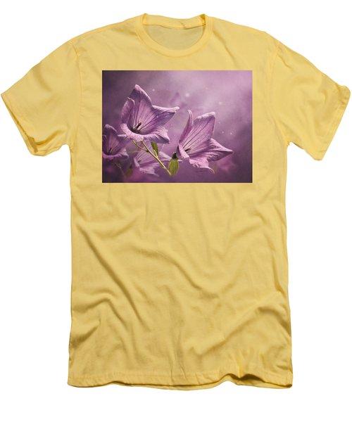 Balloon Flowers Men's T-Shirt (Athletic Fit)
