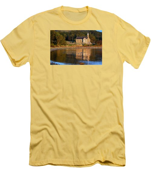Men's T-Shirt (Slim Fit) featuring the photograph Bathed In Gods Light by Wendy Wilton