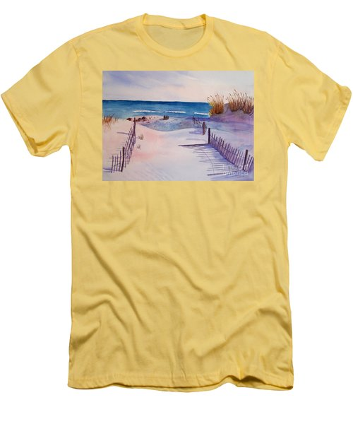 Beach Afternoon Men's T-Shirt (Athletic Fit)