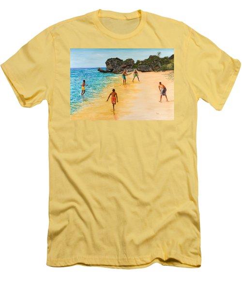 Beach Cricket Men's T-Shirt (Athletic Fit)