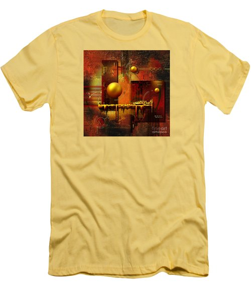 Men's T-Shirt (Slim Fit) featuring the digital art Beauty Of An Illusion by Franziskus Pfleghart