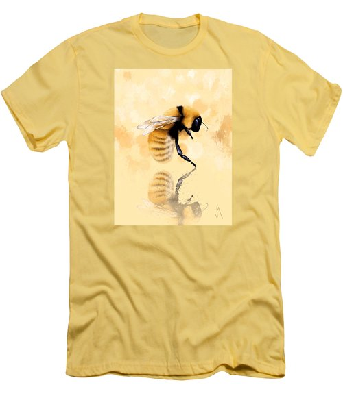 Bee Men's T-Shirt (Slim Fit) by Veronica Minozzi